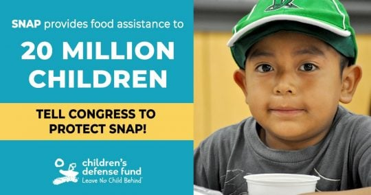 Tell Congress to Protect SNAP