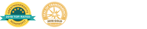 2018 Top-Rated Nonprofit, 2018 Gold Seal of Transparency