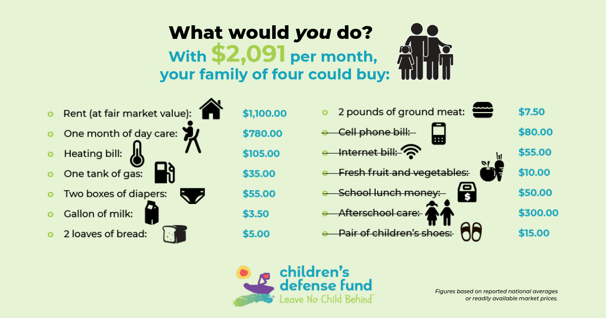 Could you live on $17 a day?