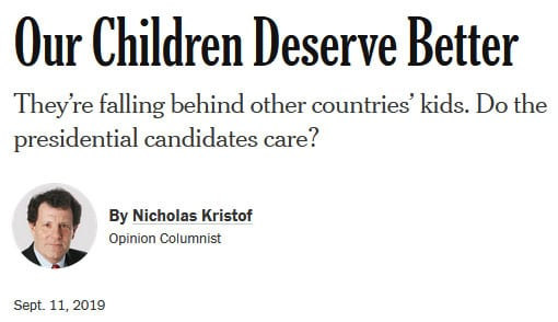 Our Children Deserve Better