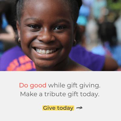 Do good while gift giving.