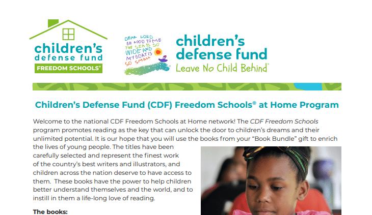 Freedom Schools Afterschool @ Home